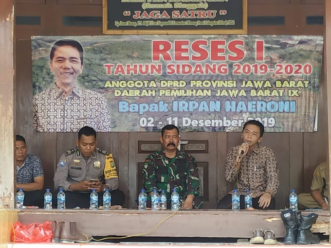 Reses Anggota DPRD Provinsi Jawa Barat Irpan Haeroni, Titik Beratkan Objek Wisata Rawa binong