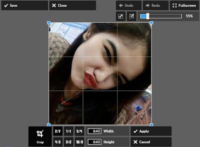 Cara Cepat Membuat Efek Square Blur Dengan Editor Online