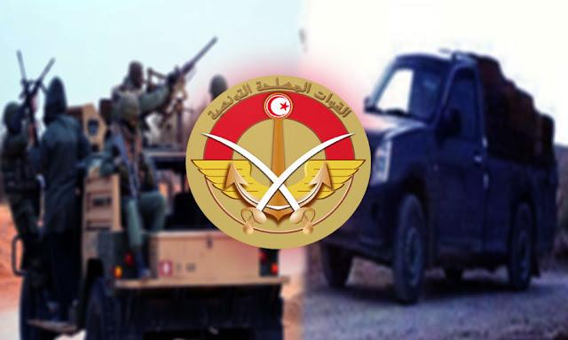 تطاوين : إصابة عسكري في تبادل لإطلاق النار مع مجموعة مهربين