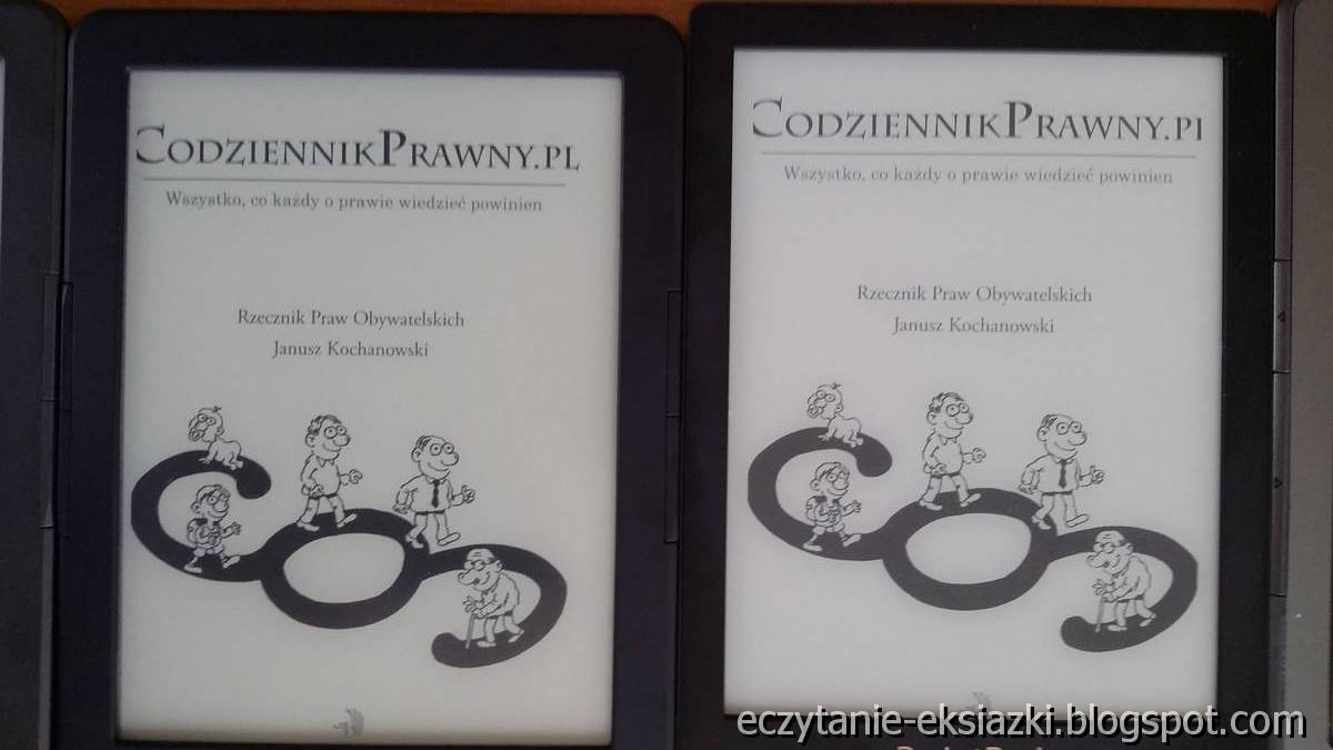 Porównanie ekranu – InkBOOK LUMOS i PocketBook Basic Lux 2