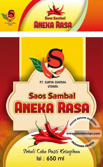 Iklan Label Sambal