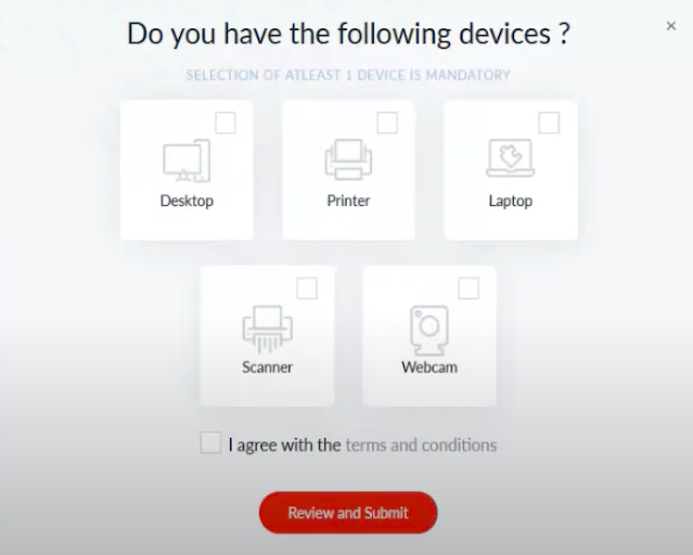 How to Verify Devices in Tathya Mitra Kendra Registration