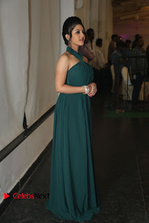 Actress Shriya Sharma Pictures in Long Dress at Nirmala Convent Audio Launch 0108.JPG
