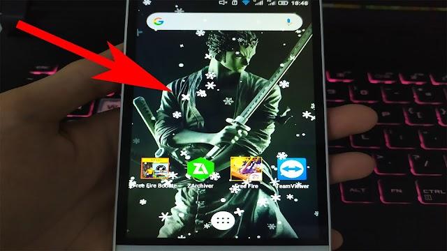 Cách thêm hiệu ứng Tuyết Rơi lên màn hình điện thoại đơn giản đón giáng sinh 2020