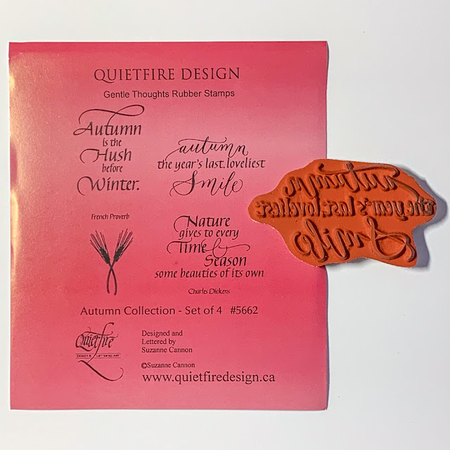 Quietfire Design stamps - Autumn Collection #5662