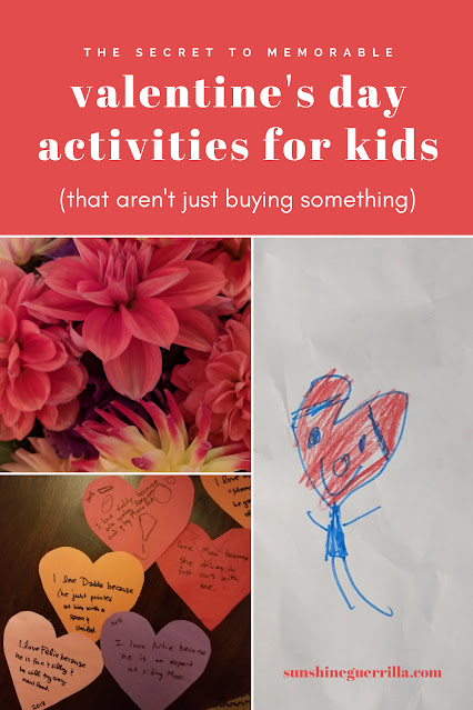Valentine's Activities and Traditions for your Kids (That Aren't Just Buying Something)