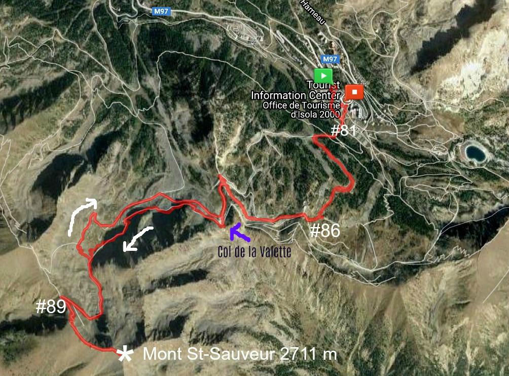 MtSaint Sauveur trail image
