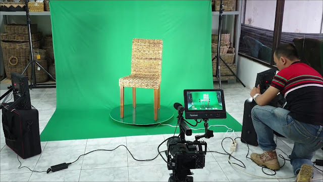 Penerapan Teknik Green Screen untuk produk dalam Produksi Video Company Profile oleh ANRILFILM