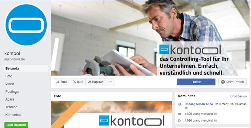 Fakta aplikasi Kontool  - FBkontool.de
