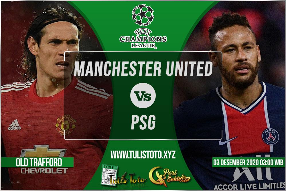 Prediksi Manchester United vs PSG 03 Desember 2020