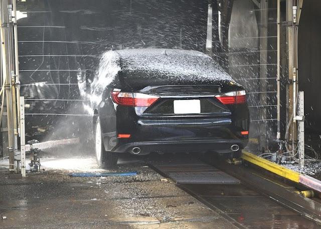 pompa air untuk cuci mobil