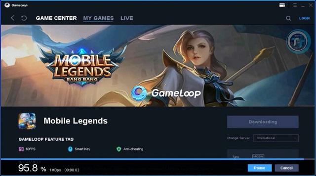 Gameloop Mobile Legends