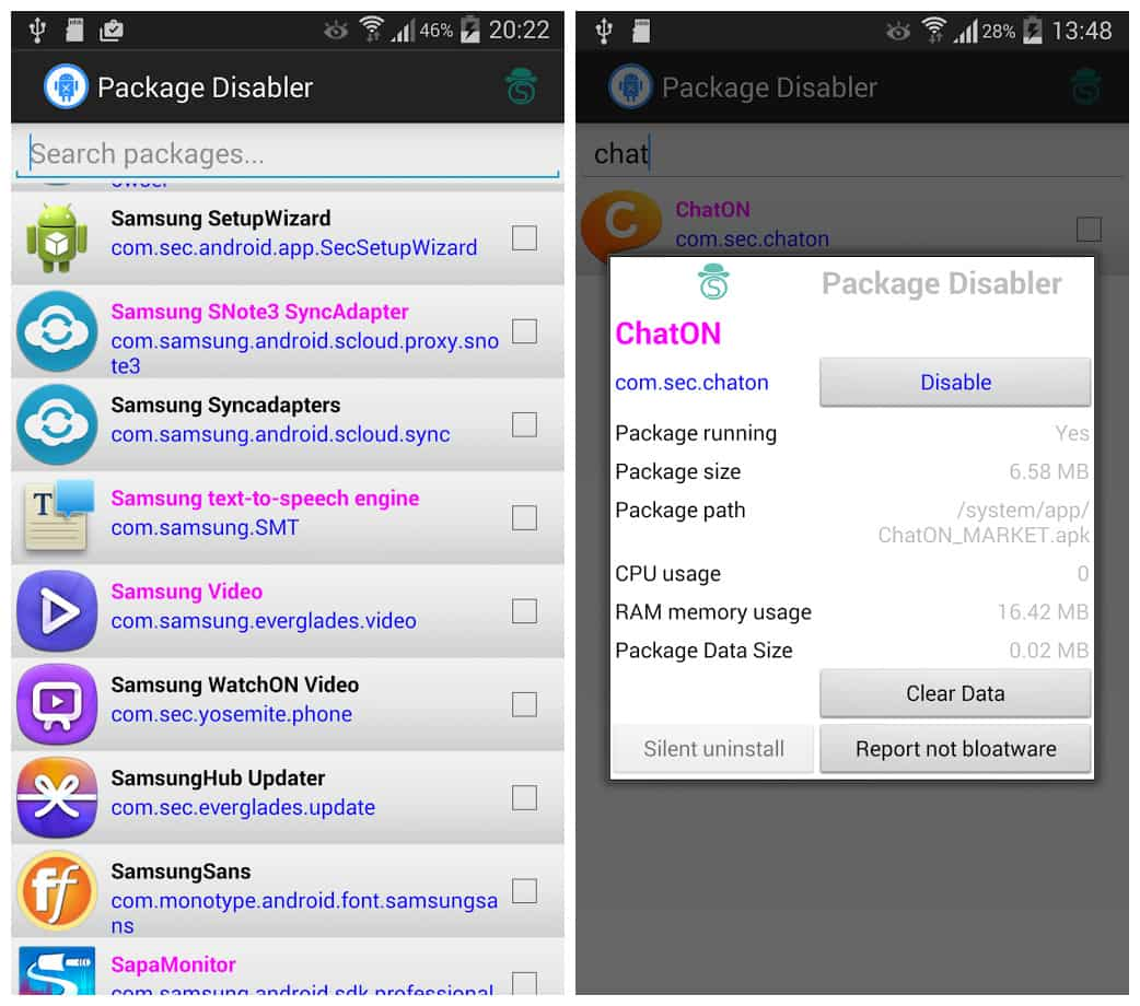 Package Disabler pro apk free download