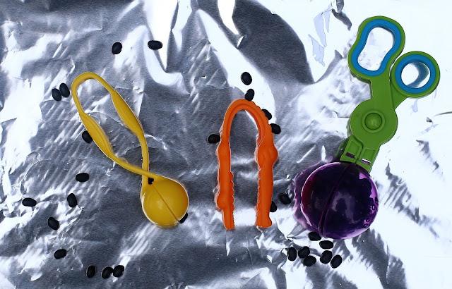 sensory bin tools