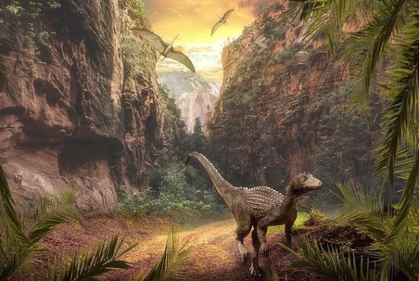 Cuando los dinosaurios surgieron, la tierra estaba al otro extremo de la galaxia. (VIDEO)