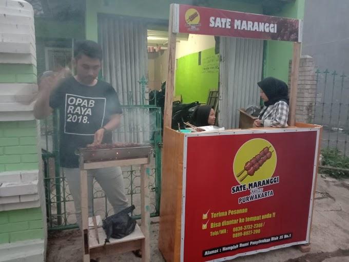 Mahasiswa Purwakarta Kenalkan Sate Maranggi Di Bandung