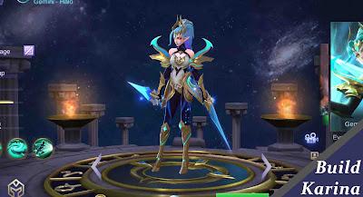 Build Karina Mobile Legends
