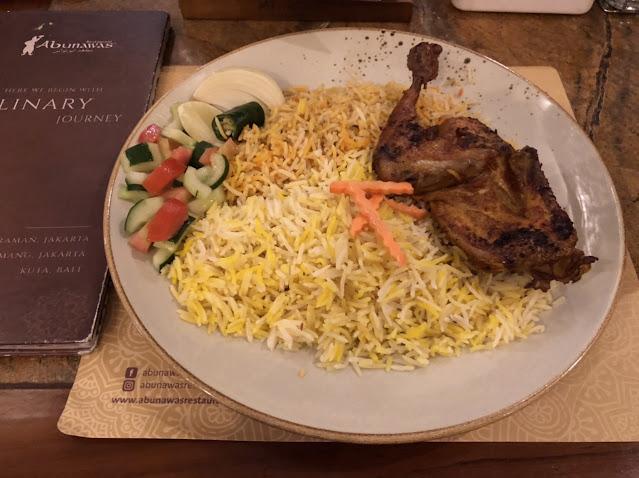 Middle Eastern Food at Abunawas Restaurant Jakarta