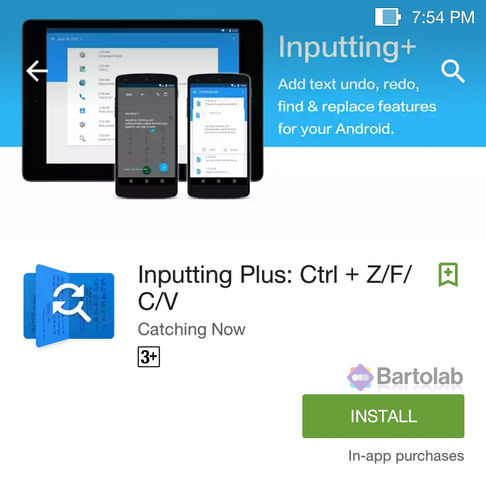 Install Inputting Plus From Google Play Store