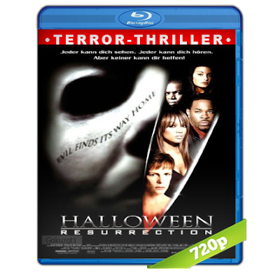 Halloween 8 (2002) BRRip 720p Audio Trial Latino-Castellano-Ingles 5.1