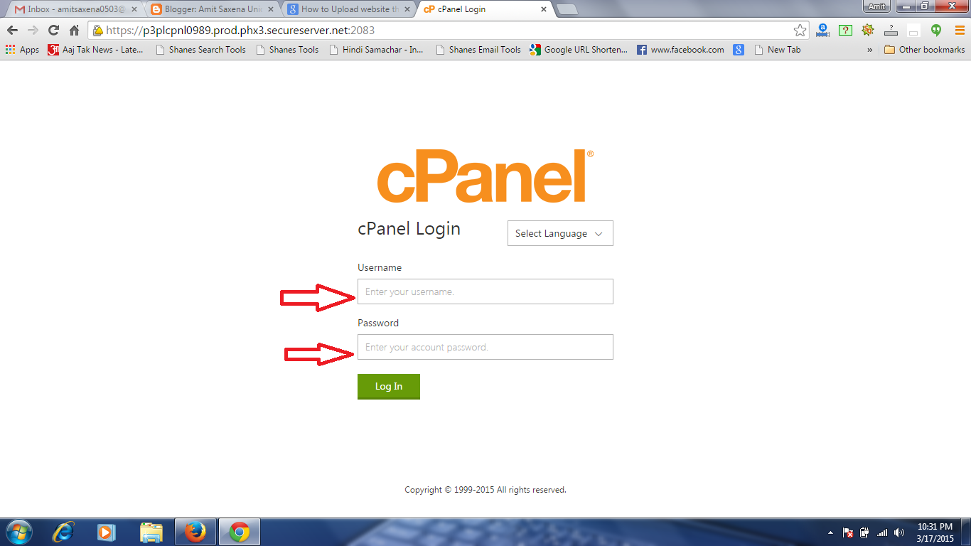 How to Upload Website Through Control Panel in GoDaddy Host?