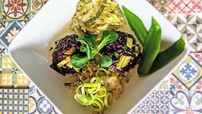 czarny ryż dania