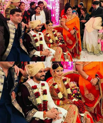 Gaurav Chopra and Hitisha Cheranda Wedding Ceremony