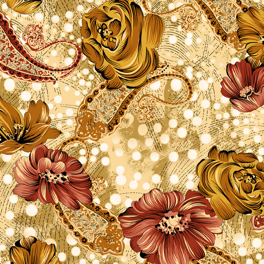 textile design sketches | Fabric Textile Designs Patterns