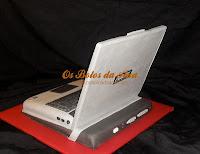 Bolo Portatil Asus, Computer Cakes, Laptop Cakes, Portable Cakes, Bolos decorados Computador, Bolos Artisticos Portatil, Bolos Computadores Portateis