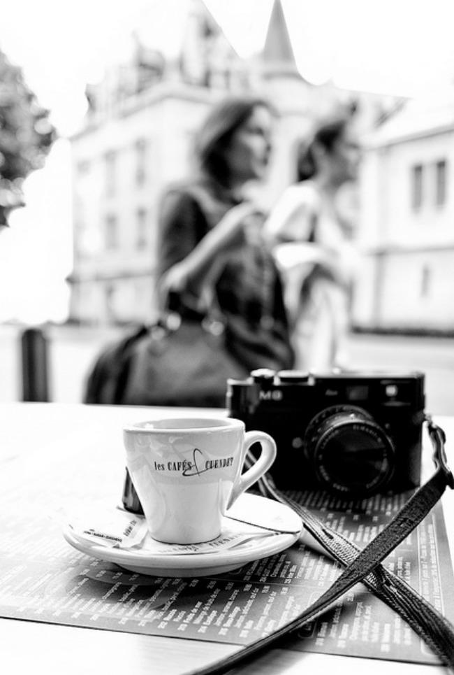 El café de los viernes - Street Photography