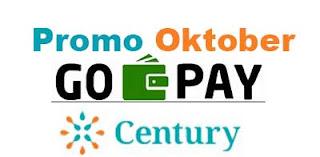 Promo GoPay Oktober 2019 di Century