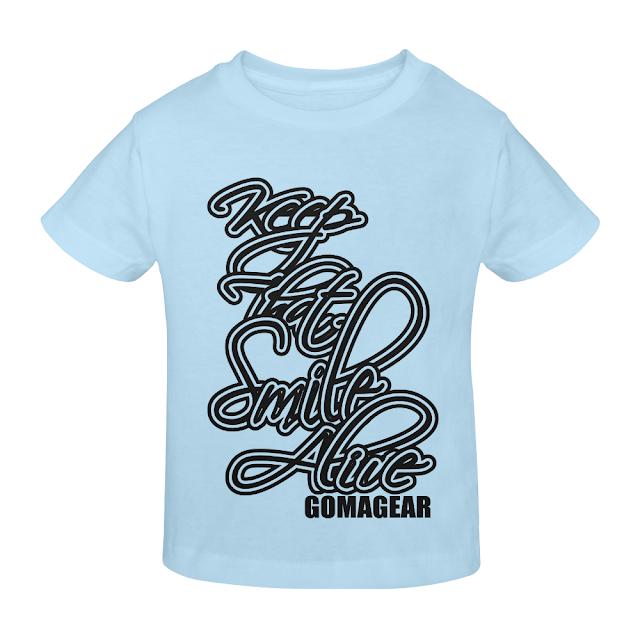 GOMAGEAR KTSA KEEP THAT SMILE ALIVE YOUTH T-SHIRT - BB