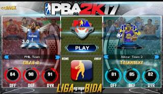 Download PBA 2k17 Apk + Obb V2.2 For Android