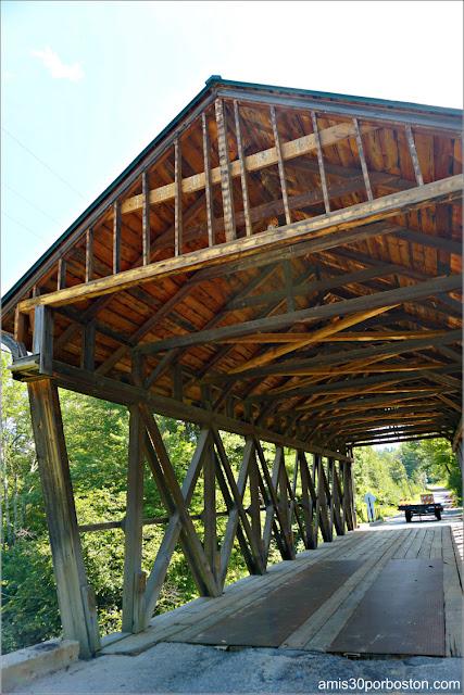 Puente Cubierto Bement Covered Bridge en New Hampshire