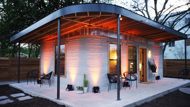 Esta casa cuesta 10.000 dólares y se imprime en 3D en 24 horas