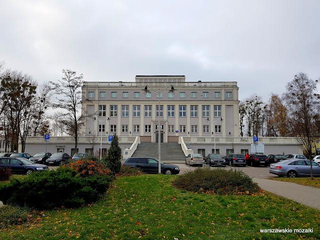 Warszawa Warsaw Bemowo Boernerowo WAT Wojskowa Akademia Techniczna Kaliskiego 19 architektura architecture  Tadeusz Rupniewski