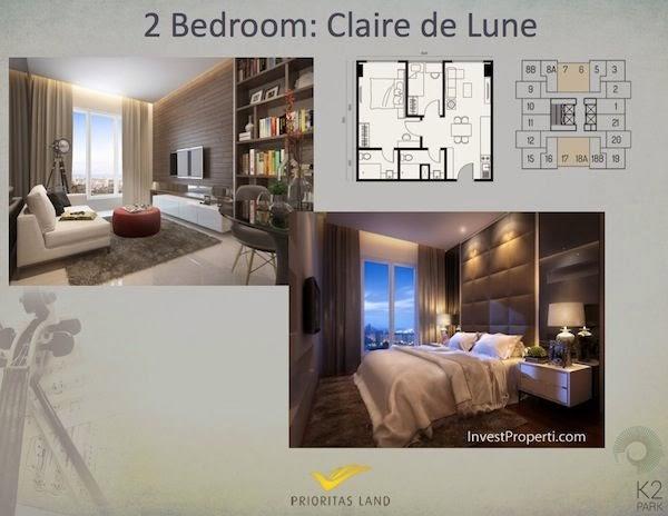 Tipe 2 BR Claire de Lune