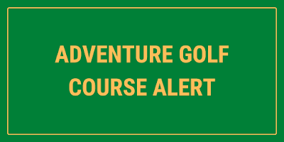 New Adventure Golf course opening at Dobbies Garden Centre in Gloucester