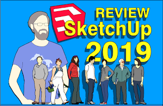 Review SkecthUp 2019