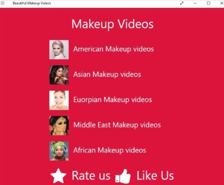 aplikasi cara belajar makeup di windows  Aplikasi Tutorial Belajar Makeup di Windows 10 [Video]