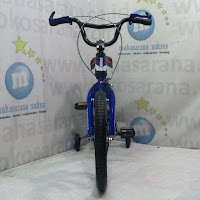 18 erminio 2308 oversized headset bmx anak sepeda