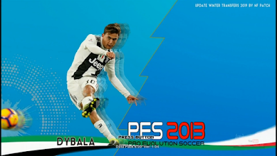 PES 2013 PS3 NF Patch Winter Transfers 2018/2019