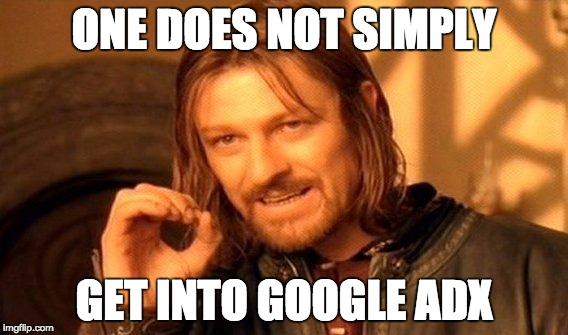 Pelajari: Apa itu AdSense vs Google Ad Exchange? - adx meme lol
