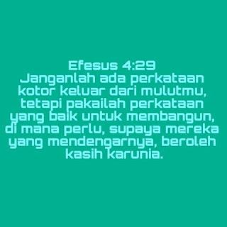 Ayat Firman Tuhan Alkitab Tentang Perkataan