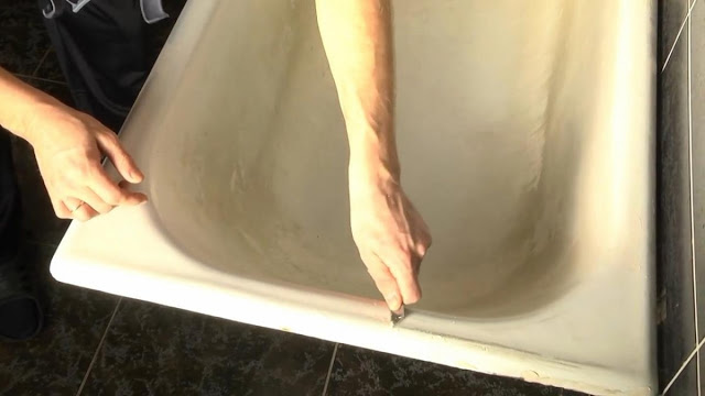 Реставрация ванны жидким акрилом — назначение, виды, монтаж