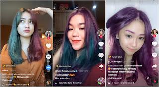 Cara Mengubah Warna Rambut Di TikTok