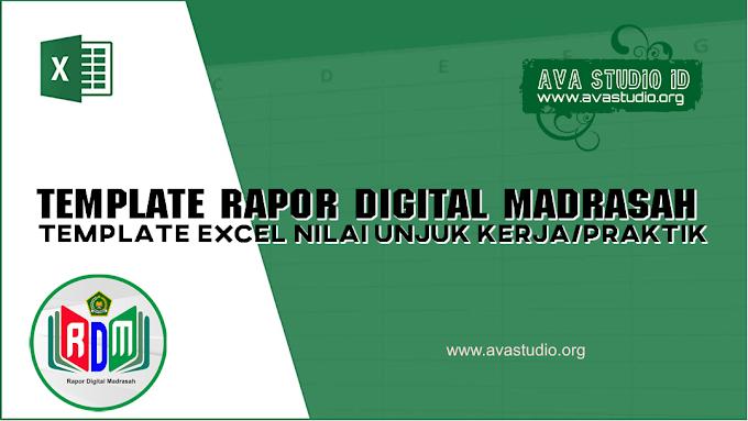[Excel] Template Excel RDM 2021 - Penilaian Unjuk Kerja/Praktikum