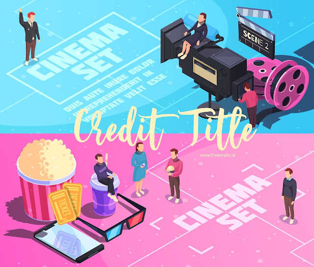 Membuat Credit Title Film