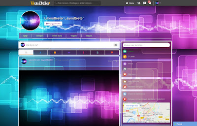 Purple Tech Twikie Layout