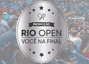 Cadastrar Promoção Rio Open 2020 Você na Final Tudo Pago - Ingressos e Muito Mais